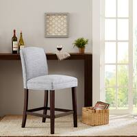 Madison Park Weldon Grey Counter Stool Free Shipping