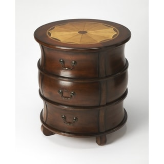 Butler Bentley Plantation Cherry Barrel Table