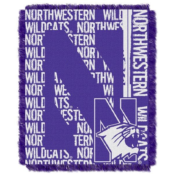 College 019 Northwestern Double Play Throw