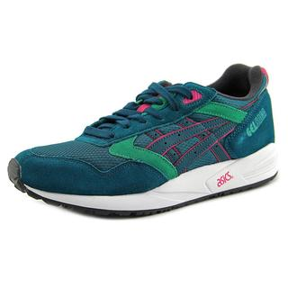 Asics Women's Gel Saga Green Suede Regular Athletic Shoe