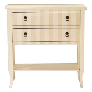 2-drawer Bottom Shelf Console Cabinet