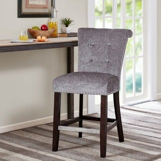 Madison Park Weldon Grey Counter Stool