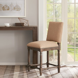 Madison Park Kagen Sand/Reclaimed Grey Counter Stool