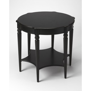 Handmade Butler Bainbridge Black Licorice Wood End Table (China)