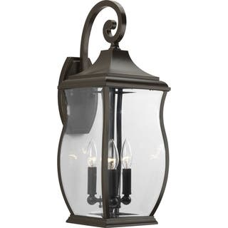 Progress Lighting P5699 108 Township 3 Light Large Wall Lantern