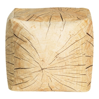 Sitting Point Velvet Cube Tree Pouf