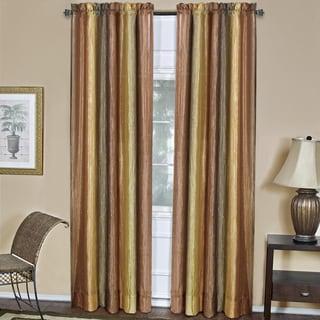 Achim Ombre Multicolored Window Curtain Panel