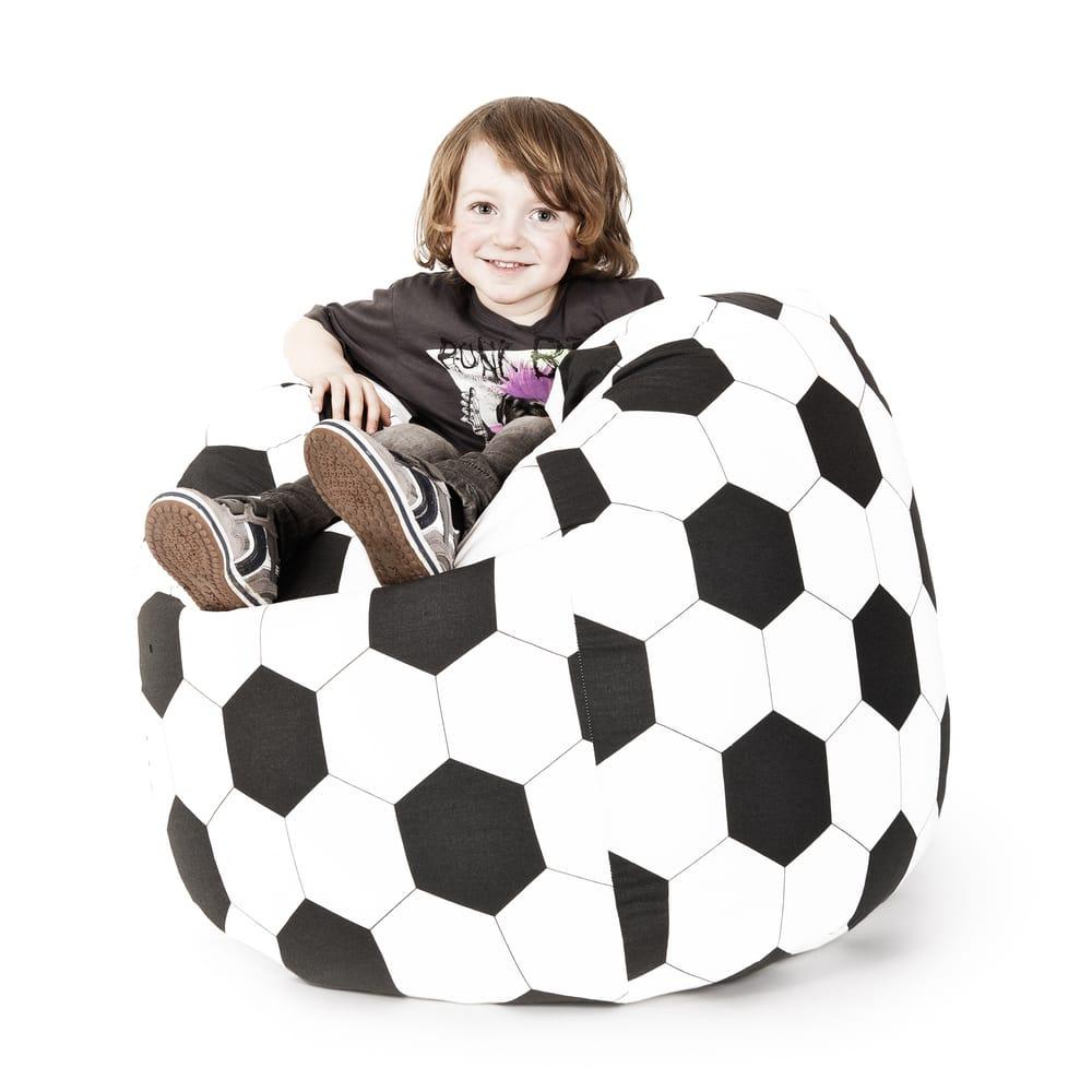 Sitting Point Oeko Tex Certified Cotton Fussball Extra Large Bean Bag