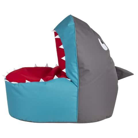 Sitting Point Oxford Fabric Shark Brava Multicolor Polytex/ Polystyrene Bean Bag