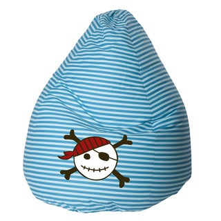Sitting Point Oeko-Tex Certified Cotton Pirate Extra Large Bean Bag