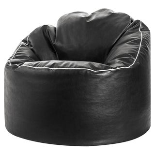 Sitting Point Faux Leather Tube Cozy Extra Large Bean Bag