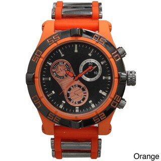Olivia Pratt Men's 3-dial Chronograph Sports Watch