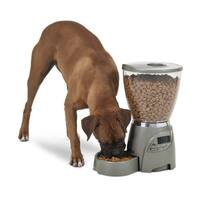 Petmate Portion Right Programmable Grey Cat or Dog Feeder