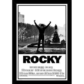Rocky Movie Print with Contemporary Poster Frame