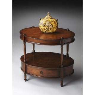 Butler Barrington Madrid Brown Oval Accent Table