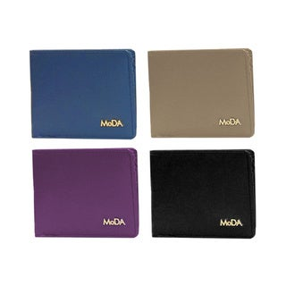 MoDA Mini Slim Bifold Multifunctional Credit Card Wallet