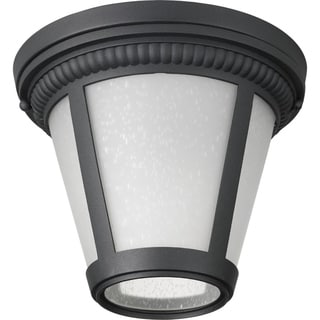 Progress Lighting Westport Black Aluminum 1-light LED Flush Mount