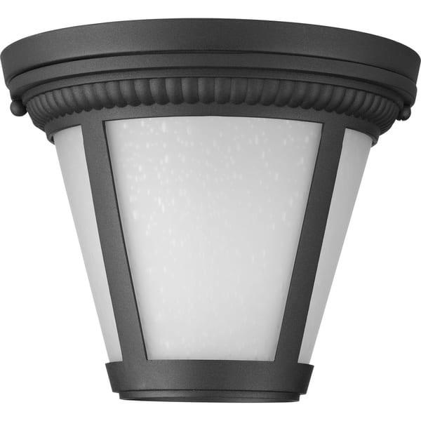 Progress Lighting Westport Black Aluminum 1 Light Led Flush Mount N A