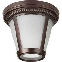 Progress Lighting P3883-2030K9 Westport Bronze Aluminum 1-light LED Flush Mount