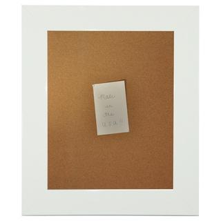 American Made Rayne Delta White Corkboard