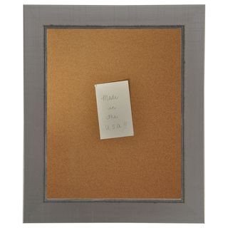 American Made Rayne Silver Swift Corkboard (More options available)