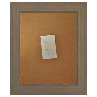 American Made Rayne Champagne Colville Corkboard (More options available)