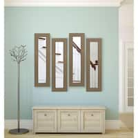 American Made Champagne Colville Panel Mirrors