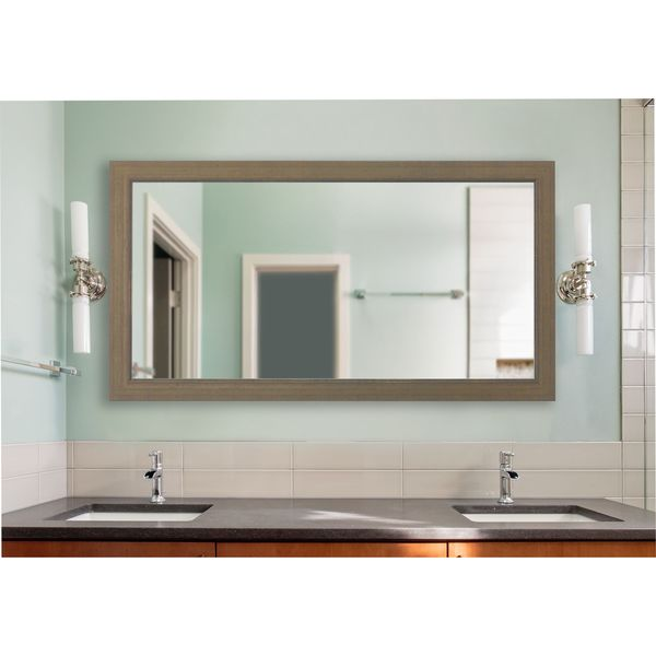 American Made Champagne Colville Extra Large Vanity Wall Mirror