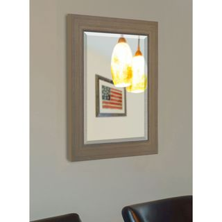 American Made Rayne Champagne Colville Vanity Wall Mirror