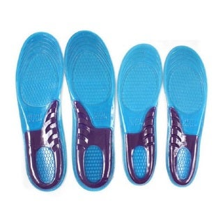 Unisex Custom Fit Massaging Gel Cushioned Shoe Insoles (2 options available)