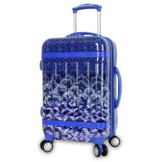 J World Taqoo Art Collection Dawn 20-inch Hardside Carry-on Spinner Suitcase
