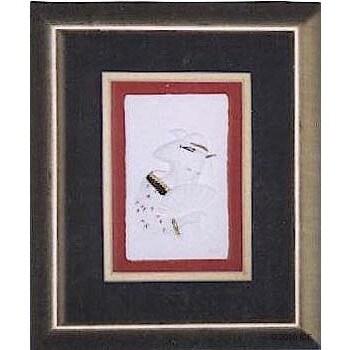 Cast Paper 'Fan' 10x12 Indoor/ Outdoor Framed Art