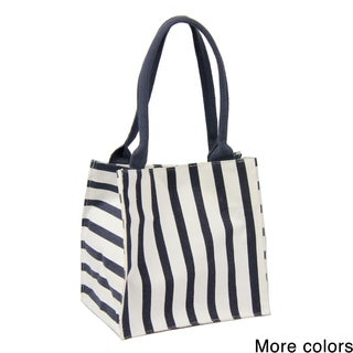 Saachi Indian Summer Tiny Tote Canvas Striped Bag (India)