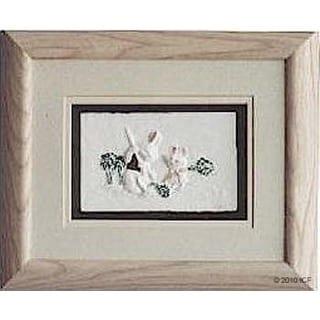 Cast Paper 'Garden Friends II' 10x12 Indoor/ Outdoor Framed Art