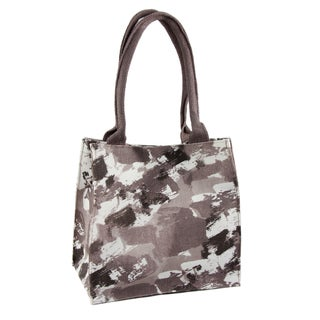 Handmade Saachi Indian Summer Tiny Tote Canvas Camouflage Bag (India)