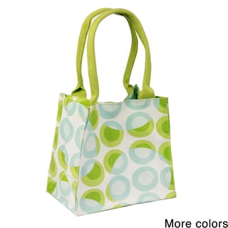 Saachi Indian Summer Tiny Tote Canvas Circle Bag (India)