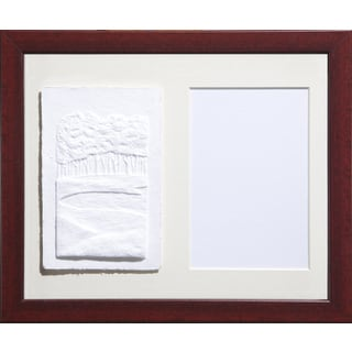 Cast Paper 'Sm. Golf Sandtrap' 9 1/2 x 11 1/2 Indoor/ Outdoor Framed Art