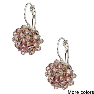 Handmade Saachi Bead Drop Earrings (China)
