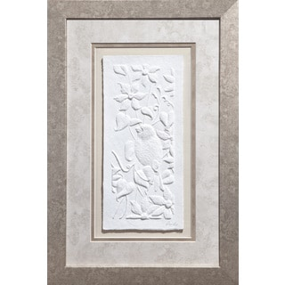 Cast Paper 'Song bird ll' 12x18 Indoor/ Outdoor Framed Art