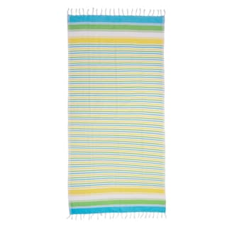 Saachi Oversized Cotton Fouta Striped Beach Towel (India)