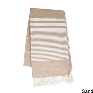 Saachi Oversized Cotton Fouta Striped Beach Towel (India)