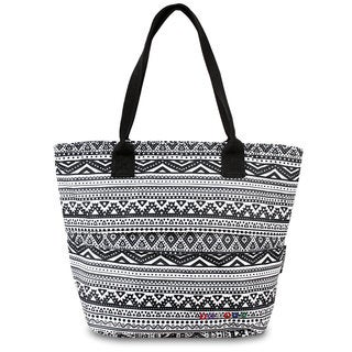 J World Lola Tribal Insulated Lunch Tote Bag
