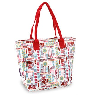 J World Lola Heart Factory Insulated Lunch Tote Bag