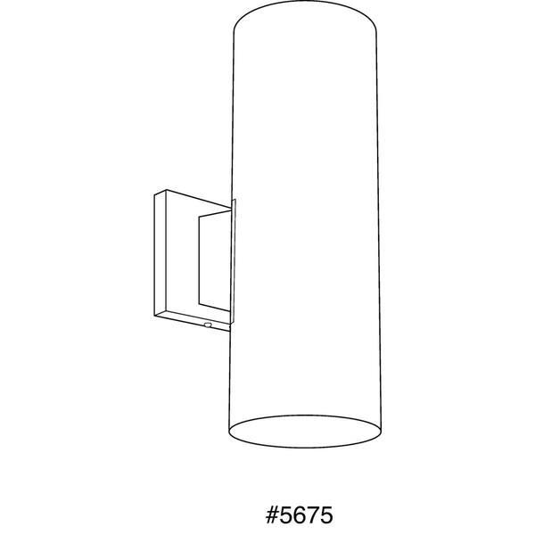 Progress Lighting P5675 31 Cylinder 2 Light Wall
