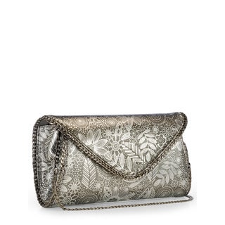 Jasbir Gill Women's Gunmetal JG-277 Clutch (India)