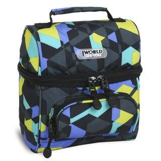 J World Corey Cubes Double-decker Lunch Bag