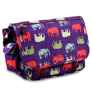 J World Terry Multicolored Polyester Elephant Messenger Bag