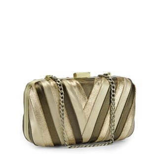 Jasbir Gill Women's Gold/Bronze JG-258 Clutch (India)