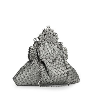 Jasbir Gill Women's Gunmetal JG-293 Clutch (India)