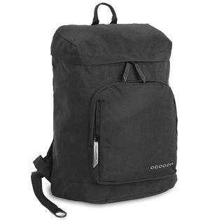J World Eve Black Polyester Laptop Backpack